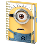 Despicable Me (Shocked Minion A5 Project Book) (Quaderno)