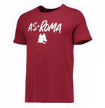 T-shirt Roma 2016-2017 (Bordeaux)