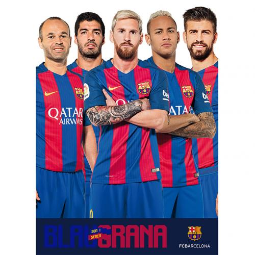 Poster Barcellona Players 73