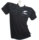 All Blacks Polo Pique Maori