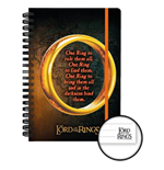 Lord Of The Rings - One Ring (Quaderno)