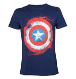 Marvel - Captain America Shield Blue (T-SHIRT Unisex )