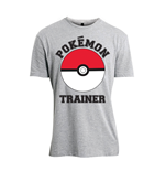 Pokemon - Pokemon Trainer Grey (T-SHIRT Unisex )
