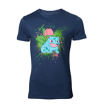 Pokemon - Navy Ivysaur Splatter Blue (T-SHIRT Unisex )