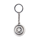 Marvel Comics - Captain America Shield Metal Silver (Portachiavi In Metallo)