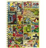 Marvel (Comic Strip A4 Notebook) (Quaderno)