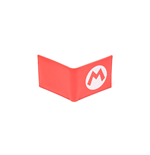 Nintendo - Super Mario Red Bifold Wallet With Symbol Embroidery Wallets Bifold U Red (Portafoglio)