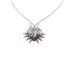 Nintendo - Zelda Majora'S Mask Silver Necklace Pendant (Collana)