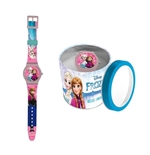 Orologio da polso in box latta Frozen