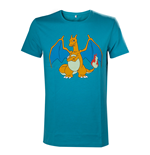 Pokemon - Charizard Turquoise Green (T-SHIRT Unisex )