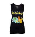 Pokemon - Starting Characters Black (canotta Donna )