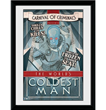 Batman Comic - Circus Coldest Man (Stampa In Cornice 30x40 Cm)
