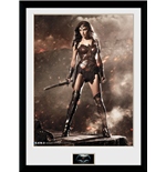 Batman Vs Superman - Wonder Woman (Stampa In Cornice 30x40 Cm)