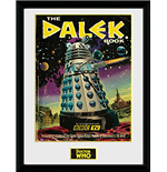Doctor Who - The Dalek Book (Stampa In Cornice 30x40 Cm)