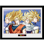 Dragon Ball Z - Group (Stampa In Cornice 30x40 Cm)