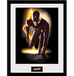 Flash (The) - Speed (Stampa In Cornice 30x40 Cm)