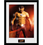 Flash (The) - Kid Flash (Stampa In Cornice 30x40 Cm)
