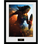 Wonder Woman - Run (Stampa In Cornice 30x40 Cm)