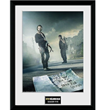 Walking Dead (The) - Season 5 (Stampa In Cornice 30x40 Cm)