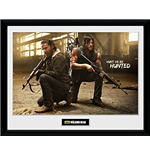 Walking Dead (The) - Rick And Daryl Hunt (Stampa In Cornice 30x40 Cm)