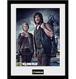 Walking Dead (The) - Carol And Daryl (Stampa In Cornice 30x40 Cm)