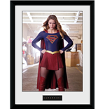 Supergirl - Stance (Stampa In Cornice 30x40 Cm)
