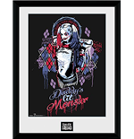 Suicide Squad - Harley Quinn Monster (Stampa In Cornice 30x40 Cm)