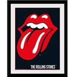 Rolling Stones (The) - Lips (Stampa In Cornice 30x40 Cm)