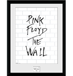 Stampa In Cornice Pink Floyd - The Wall - White Wall - 30x40 Cm
