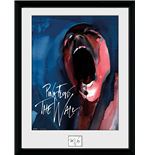 Pink Floyd - The Wall - Scream (Stampa In Cornice 30x40 Cm)