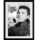 Muhammad Ali - Courageous (Stampa In Cornice 30x40 Cm)