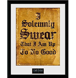 Harry Potter - I Solemnly Swear (Stampa In Cornice 30x40 Cm)