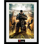 Gears Of War - Gears 3 (Stampa In Cornice 30x40 Cm)