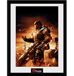 Gears Of War - Gears 2 (Stampa In Cornice 30x40 Cm)