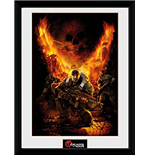 Gears Of War - Gears 1 (Stampa In Cornice 30x40 Cm)