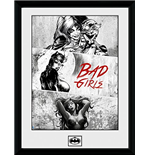 Dc Comics - Badgirls (Stampa In Cornice 30x40 Cm)