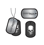 Dog Tag / Piastrina Ghost Recon 252756