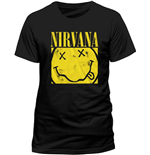 Nirvana - Box Smiley (T-SHIRT Unisex )
