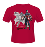 T-shirt Marvel Avengers Age Of Ultron Captain A Draw