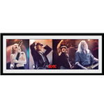 Ac/Dc - Band (Stampa In Cornice 75x30 Cm)