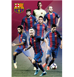 Barcelona - Players 16/17 (Poster Maxi 61x91,5 Cm)