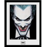 Batman Comic - Joker Smile (Stampa In Cornice 30x40 Cm)