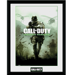 Call Of Duty Modern Warfare - Key Art (Stampa In Cornice 30x40 Cm)