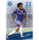 Chelsea - Willian 16/17 (Poster Maxi 61x91,5 Cm)