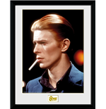 David Bowie - Smoke (Stampa In Cornice 30x40 Cm)