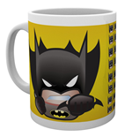 Dc Comics - Emoji Batman (Tazza)