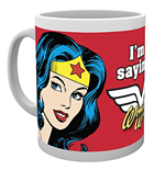 Tazza Dc Comics - Wonder Woman Not Saying