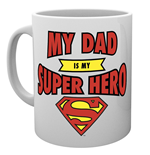 Dc Comics - Superman Dad Superhero (Tazza)