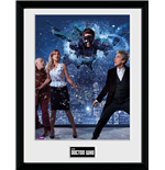 Doctor Who - Xmas Iconic 2016 (Stampa In Cornice 30x40 Cm)