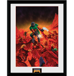 Doom - Classic Key Art (Stampa In Cornice 30x40 Cm)